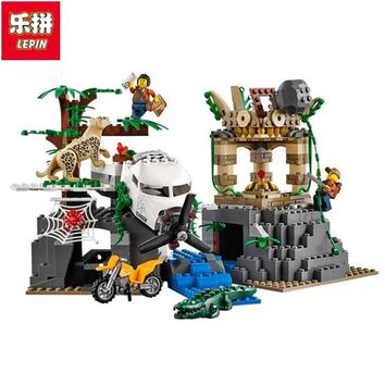 02061 Jungle Exploration Raiders Of The Lost Ark Building Bricks Blocks Brick Toys For Children Compatible With Legoing 60161