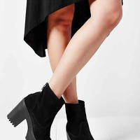 Shellys London Meagan Platform Heel Boot- Black