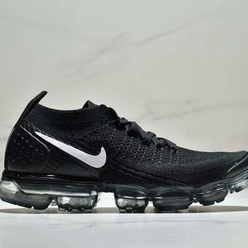 Nike Air Vapor max New fashion women and men sport air cushion network shoe Black