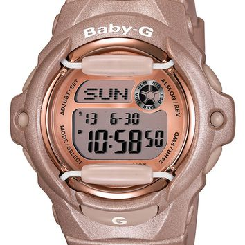 Baby-G Pink Dial Digital Watch, 46mm x 42mm | Nordstrom