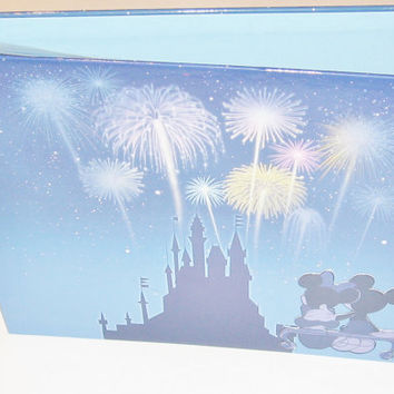 Disney Scrapbook Album 8x8 by StrictlyCute on Etsy