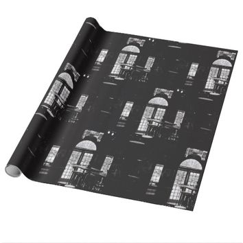 Kodak Film BNW Bar Beer TV Windows Wrapping Paper