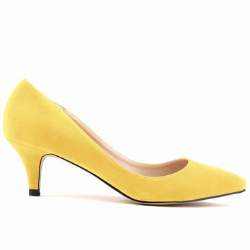 New style sexy high heels shoes fine with flannel women pumps ladies party chaussure femme talon zapatos mujer tacones