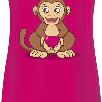 Monkey Love Simple Dress