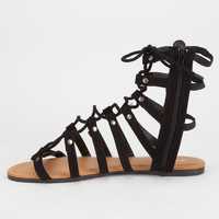 BAMBOO Ghillie Womens Gladiator Sandals   Sandals