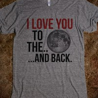 I LOVE YOU TO THE MOON AND BACK T-SHIRT (IDA320201)