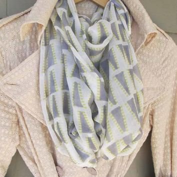 Soft Grey Nomad Cotton Scarf