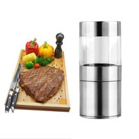 High Quality Manual Stainless Steel Salt Pepper Mill Shaker Pepper Grinder Muller Cooking Tool