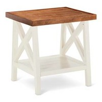 Larkspur Side Table - Off White