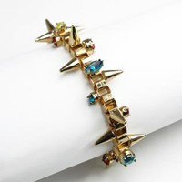 Chain Spike Diamond Bracelet S010446