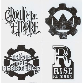 Crown The Empire Sticker Set