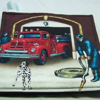 Firehouse, Hot Pads, Pot Holders, Set of 2