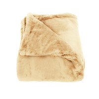 Oh So Soft Camel Queen-size Microfiber Blanket
