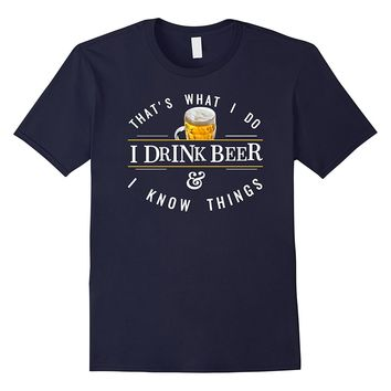 Funny Beer Logo Text Quote T Shirt Beer Lover Gift