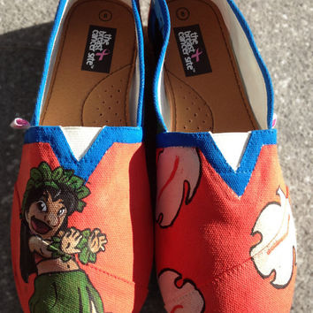 Lilo from  Lilo & Stitch Custom Shoes