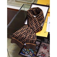 Fendi New fashion more letter print couple scarf No Box