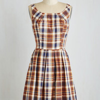 Scholastic Mid-length Sleeveless Fit & Flare Book Club Beauty Dress by ModCloth