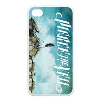 Pierce The Veil RUBBER SILICONE Case for iPhone 4, iPhone 4S, Pierce The Veil RUBBER iPhone Case-AZA