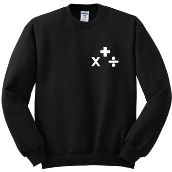 "Ed Sheeran ""Plus, Multiply, Divide"" Albums Crewneck Sweatshirt"
