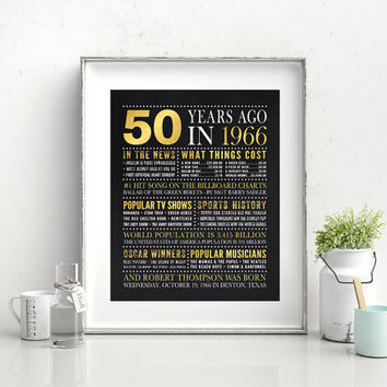 Chalkboard Birthday Poster, 50th birthday gift, 60th birthday gift, retirement gift, Birthday Poster sign, can be made for any age, 16x20
