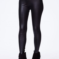 TABALA HIGH WAISTED SHINY LEGGINGS