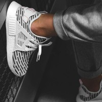 adidas nmd_xr1 pk zebra running sport casual shoes sneakers