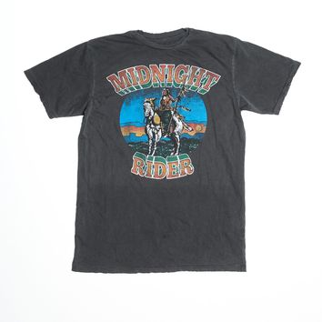 On Horseback Men's Crew - Vintage Black