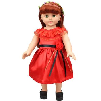 Lovely Princess Dress Up Costume For 18 inch Our Generation American Girl Doll