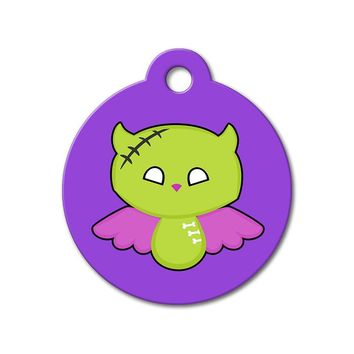 Zombie Angel - Halloween Pet Tag