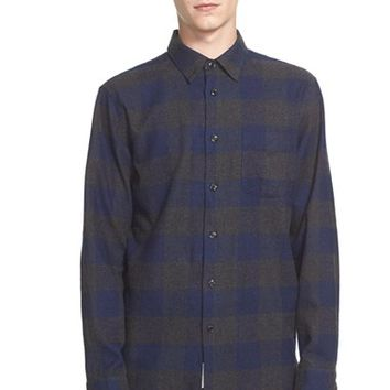 Men's rag & bone 'Beach' Trim Fit Buffalo Check Shirt,