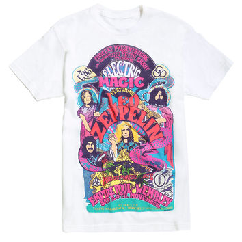 Led Zeppelin UK 1971 Winter Tour T-Shirt