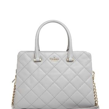 kate spade new yorkEmerson Place Olivera Quilted Leather Satchel