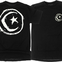 Foundation Star & Moon T-Shirt S Black