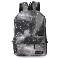 US Travel Women Canvas Galaxy Backpack Men Rucksack Shoulder School Bag Satchel