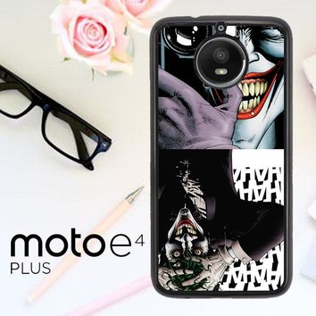 The Joker The Killing Joke Case - Batman V0160 Motorola Moto E4 Plus Case