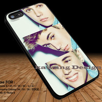 Three Collage Justin Bieber iPhone 6s 6 6s+ 5c 5s Cases Samsung Galaxy s5 s6 Edge+ NOTE 5 4 3 #music #jb DOP2192