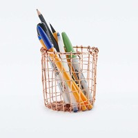 Cabo Copper Cup Pencil Holder - Urban Outfitters