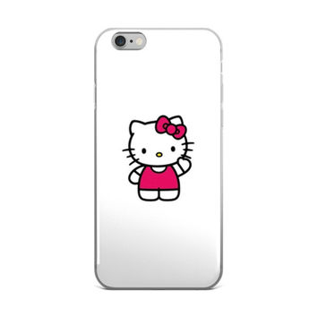 Hello Kitty iPhone 4 4s 5 5s 5C 6 6s 6 Plus 6s Plus 7 & 7 Plus Case