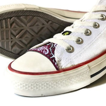 Chuck Taylor All-Star skin  Kit CIPPCAP Diy Purple Legend Ethnic
