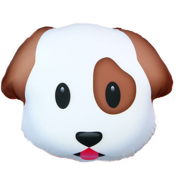 Pig Amp Dog Emoji Pillow From Shop Jeen Home Sweet Home