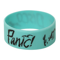 Panic! At The Disco Bats Rubber Bracelet
