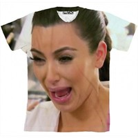☮♡ Kim K Crying Shirt ✞☆