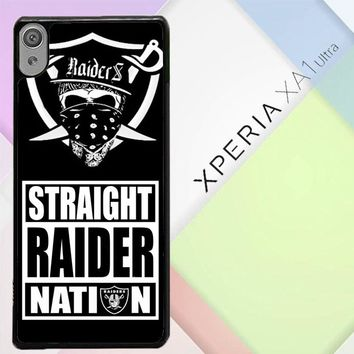 Oakland Raiders W4883 Sony Xperia XA1 Ultra Case
