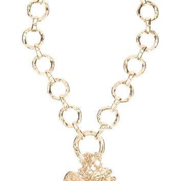 Yves Saint Laurent Vintage charm necklace