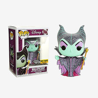 Funko Disney Diamond Collection Sleeping Beauty Pop! Maleficent Vinyl Figure Hot Topic Exclusive