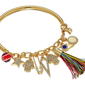 Rebecca Minkoff Traveler Charm Bracelet Gold - Zappos.com Free Shipping BOTH Ways
