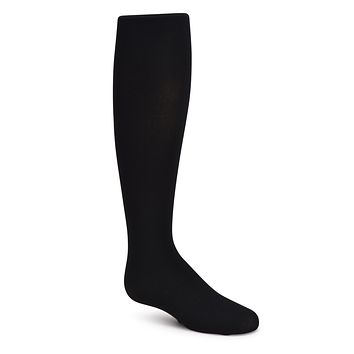 Kids Ribbed Microfiber Tights