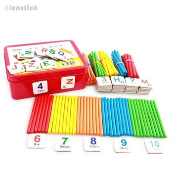 Early Childhood Education Learning Math Toys