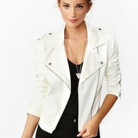 Whiteout Moto Jacket