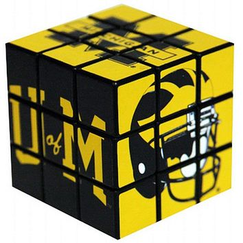 Michigan Wolverines Victors Toy Puzzle Cube